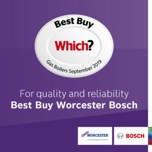 Which? Best Buy - Worcester Bosch Recommended